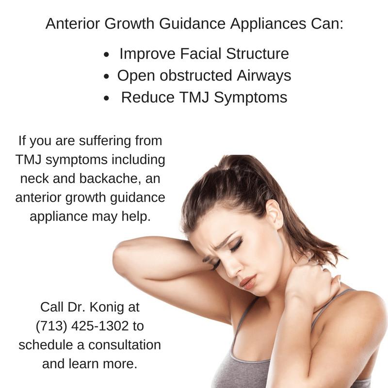 anterior growth guidance appliances