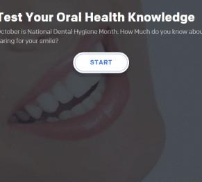 its national dental hygiene month test your oral health knowledge 5eb431eddcb57